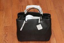 NWT Michael Kors $368 Anabelle Top Zip Large Tote Handbag Black