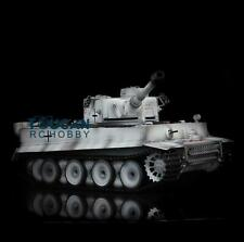 Henglong 1/16 Snow 6.0 Tiger I Rtr Rc Tank 3818 Metal Track Wheel Barrel Recoil