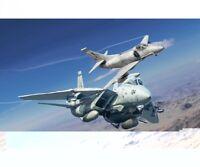 Italeri 1:72 US NF F-14A vs A-4F