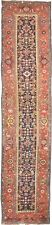 """Authentic Antique Runner rug. Genuine hand knotted. 3'8""""x 16'5"""""""