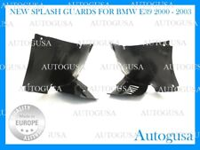 NEW BMW E39 00-03 FRONT L + R WHEEL ARCH LINER SIDE SPLASH GUARD FENDER FLARES