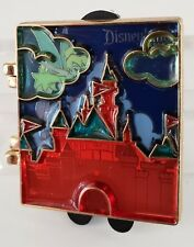 DISNEY CAST EXCL Stained Glass ATTRACTION SLEEPING BEAUTY CASTLE LE 750 PIN