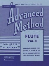 Rubank Advanced Method for Flute Volume 2 Sheet Music Book Learn How To Play