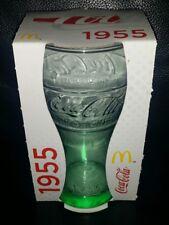 RARE COLLECTABLE 1955 COCA COLA 100 YEARS OF COKE GLASS BRAND NEW IN BOX