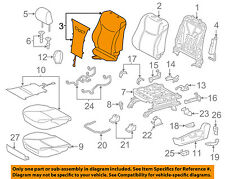 TOYOTA OEM 12-14 Prius V Driver Seat-Seat Back Cover 7107447220B3