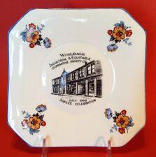 Windsor Wooldale 1886-1936 Jubilee - Square Collector Plate Yorkshire England