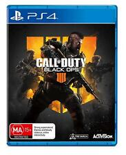 Call of Duty Black Ops 4 - Playstation 4 (PS4) Brand New Sealed