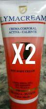 2X LYMACREAM LABEL 4 FAT BURNER & ANTICELLULITE CREAM*  390 g or 13.6