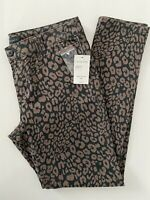 Sanctuary Leopard Twill Jean Chino Pants Womens Size 28, NWT
