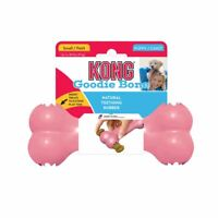 Brand New KONG Puppy Goodie Bone-Teething Rubber Treat Dispensing Dog Puppy Toy
