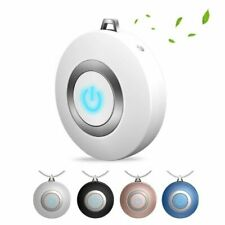 Air Purifier Necklace Mini Portable USB Low Noise Cleaner Negative Ion Generator
