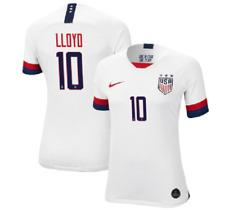 NEW Nike Womens Carli Lloyd White USWNT Home Authentic Vapor Match Jersey Medium