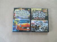 LOT OF 2 DVD SHAKE RATTLE AND ROLL, HOT RODS RAT & RODS'