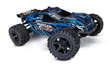 TRAXXAS 67064-1 B RUSTLER Automodello Elettrico 4x4 Brushed Blu