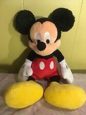 "Mickey Mouse Plush 15"" Toy Doll Stuffed Animal Disney Store Classic Design Soft!"