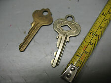 ILCO  ANTIQUE   LATCH  KEYS  BRASS  AND ARABESQUE