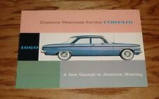 Original 1960 Chevrolet Corvair Custom Features Accessories Brochure 60 Chevy