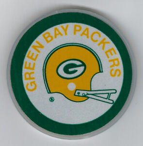 1970's Green Bay Packers bike reflector vintage rare double sided 2-bar helmet