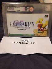 Final Fantasy V Super Famicom VGA 90+ ARCHIVAL CASE (1992) JAPAN RELEASE