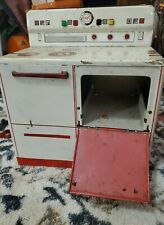 Vintage 1950s Play Stove Oven Range Tin Kitchen Wolverine Made In USA