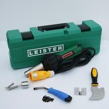 Leister welder Vinyl floor layer tool 110v ST Pushfit hot air