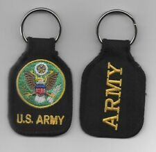 US ARMY EMBROIDERED KEY FOB