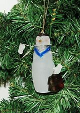 Doctor, Physician, Dr. Snowman Christmas Ornament