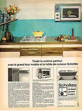 PUBLICITE ADVERTISING   1965    SCHOLTES   éléctroménager