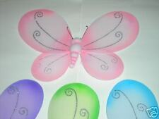 ~*6 SPARKLE BUTTERFLY FAIRY WING~*ANGEL FAIRY DRESS UP