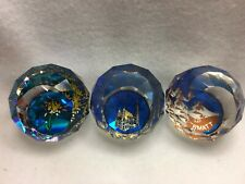 Swarovski Paperweights - 3 Pcs from Europe - Rare