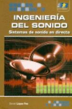 Ingenieria Del Sonido: Sistemas De Sonido En Directo. ENVÍO URGENTE (ESPAÑA)