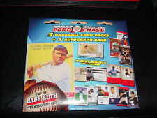 TRISTAR worlds greatest card chase packet~3 BASEBALL packs+ GUARENTEED AUTO CARD