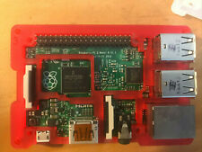 Raspberry Pi 2 Model B in Pimoroni Coupe case with power supply