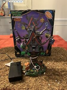 Lemax Spooky Town Halloween Hungry Tree House 2006 Village Accessory 64427