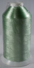 nylon floss vibrant sewing machine spool embroidery thread 5000m shiny green