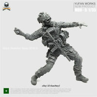 1/35 Skeleton soldier Resin Kits Unpainted YuFan Model Unassembled