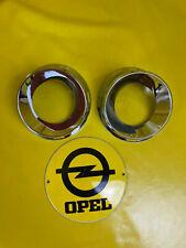 NEU + ORIGINAL Opel Zafira B OPC Satz Chrom Ringe Nebelscheinwerfer Blende NSW