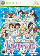 USED Xbox360 Idol Master Live for You! Normal Edition 85980 JAPAN IMPORT