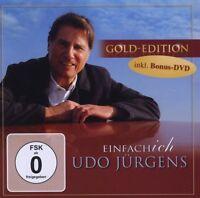 """UDO JÜRGENS """"EINFACH ICH"""" CD+DVD GOLD EDITION NEU"""