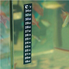High Quality Aquarium Fish Tank Thermometer Temperature Sticker Stick-On New