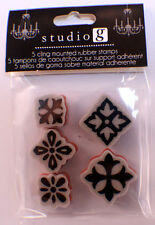 Studio G Architectural Design Elements Cling Clear Rubber Stamp