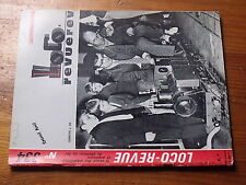 $$u Loco-Revue N°334 CF Allemagne  242.TA  depot vapeur  BB 15000  rouille