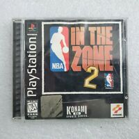 NBA In the Zone 2 - Complete Tested CIB Sony PlayStation 1 Ps1 PSone