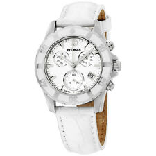 Wenger Mother of Pearl Dial Leather Strap Ladies Watch 70748