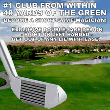 #1 MAGICIAN SHORTGAME RIGHT/LEFT HAND CHIPPER HYBRID PUTTER CHIPPING WEDGE CLUB