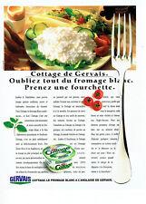 Publicité Advertising 078  1988   Gervais  fromage blanc à l'anglaise Cottage