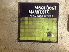 Cd lp Meat Beat Manifesto Promo Poster 17x17apx nothing records!