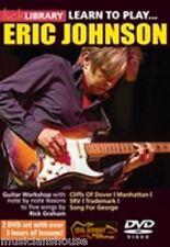 Fare clic su Libreria imparare a giocare Eric Johnson lezione ROCK BLUES CHITARRA ELETTRICA DVD