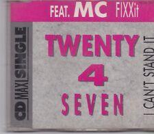 Twenty 4 Seven-I Cant Stand It 3 inch cd maxi single 4 tracks