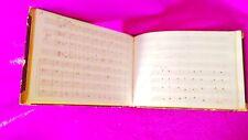 Manuscrit, Cahier de Leçons, Composition, Musicien Candido Candi 1867, Rare